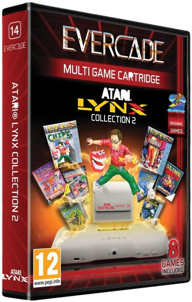 Cartucho Evercade Atari Lynx Collection 2