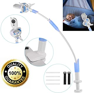 ikkle Soporte para Cámara de Bebés Soporte para Monitor Flexible de Aleación de Aluminio para Guardería Soporte Universal Compatible con la mayoría de Teléfonos & Monitores de Bebés.