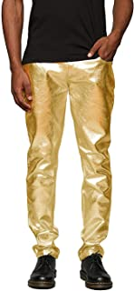 leather jeans with gold zippers