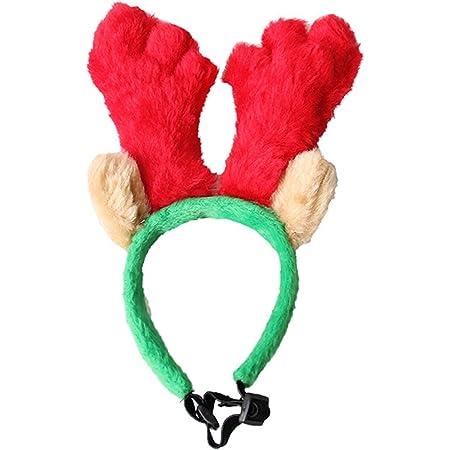 PetPhindU Cinta Navideña para Perro, Accesorio para El Sombrero De Cosplay De Puppy Dog.