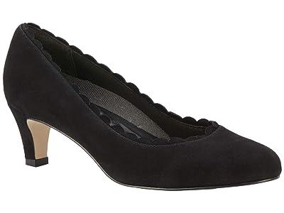 Walking Cradles Janie (Black Suede) Women