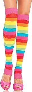 Leg Avenue 3922 - Rainbow Leg Warmers, Einheitsgröße, Mehrfarbig