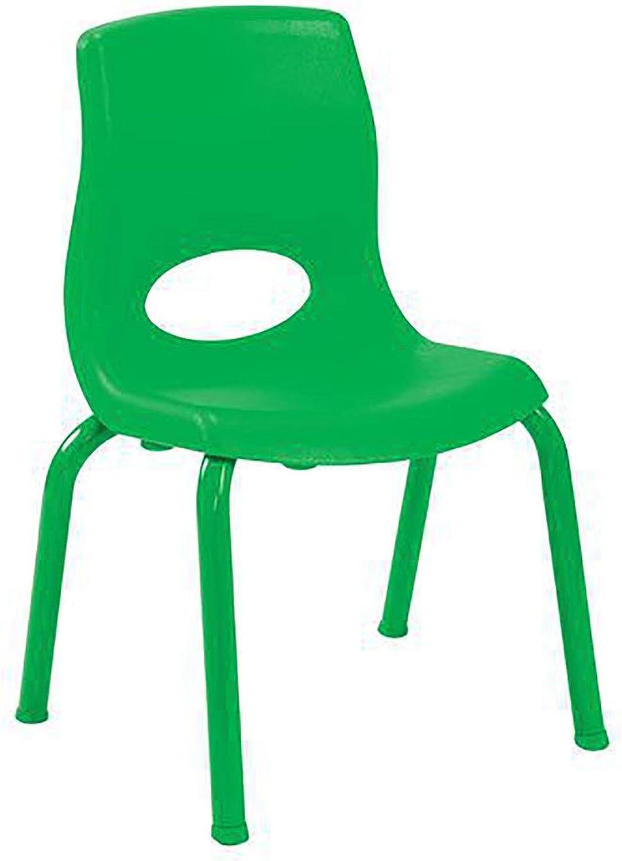 10 in. Kids Chair in Green