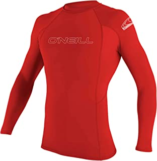O'Neill UV Sun Protection Men's Basic Skins Long Sleeve Crew Rashguard