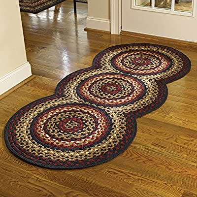 Park Designs Folk Art Braided Rug Runner - 72''L from Scout Limited, Inc.