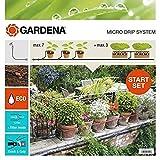 Gardena 13004-26 - Set de Inicio para macetas automático