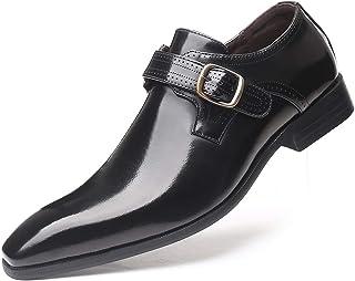 DADAWEN Homme Chaussures de Ville Chaussures Habillée élégant Oxfords Derbies
