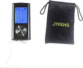 JTKENS Dual Channel 8 Mode Rechargeable Tens EMS Unit with 6 Pads Professional Digital Palm Massager Best Pain Relief Machine Devices for Lower Back Lumbar Neck Feet Hand Muscle Pain