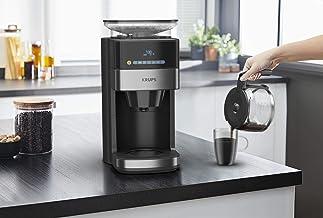 Krups KM8328 Koffiezetter Grind Aroma Grind & Brew - Incl. conische molen - intuïtief digitaal bedieningspaneel