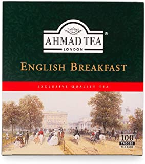 Ahmad Tea English Breakfast Tea, 100 Teabags