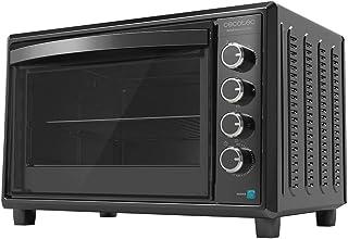 Cecotec Horno de sobremesa Bake&Toast 850 Gyro. 2200 W, Capacidad 60 litros, Cocina por convección, 12 Funciones, Incluye ...