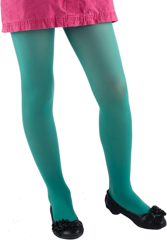 taglie da 3/a/13/anni Jandaz Collant per ragazze in microfibra/vasta gamma di 40 colori