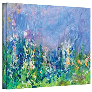 ArtWall Lavender Fields Gallery Wrapped Canvas by Claude Monet, 18 by 24-Inch