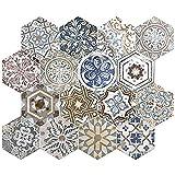 Nais Cerámica para suelos y paredes Colección Terra 29,2x25,4 cm -Caja de 1 m2 (18 Piezas), Hexagon Opera