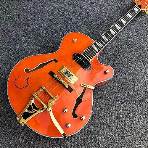 chushi Guitarra Eléctrica del Jazz WithGolden Hardware...
