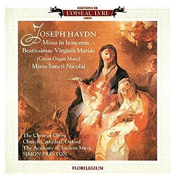 Haydn: Great Organ Mass; Missa Sancti Nicolai; Missa Rorate Coeli