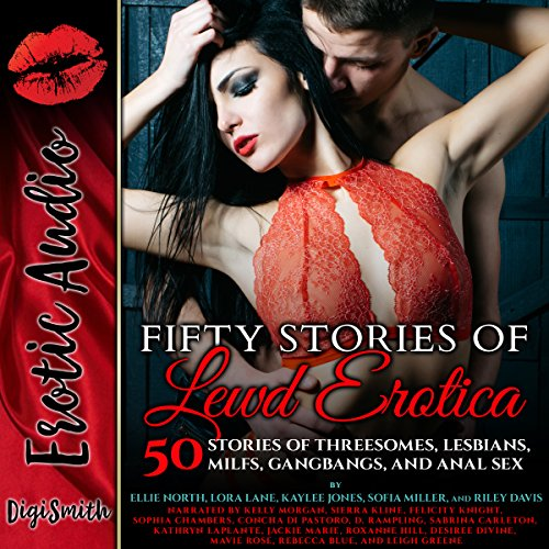 Fifty Stories of Lewd Erotica audiobook cover art