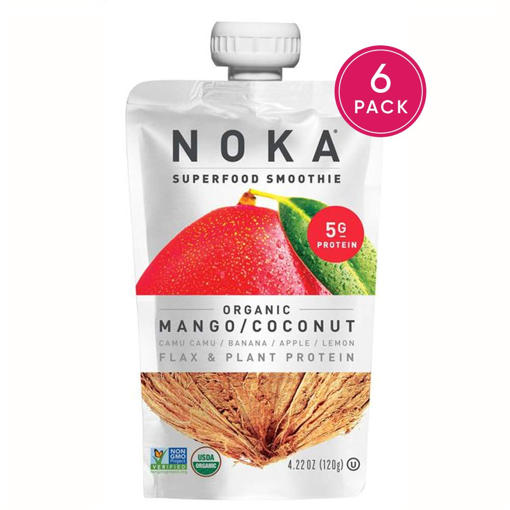 Superfood Pouches Coconut Organic Smoothie