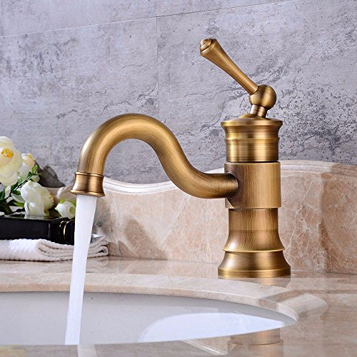 Hlluya waterkraan keuken badkamermeubel, koud water, mengkraan met slechts één gat wastafel badkamer