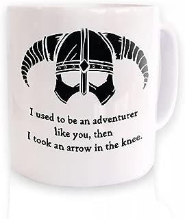 Arrow In The Knee (black Detail) Mug