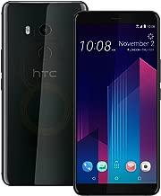 HTC U11 Plus (2Q4D100) 6GB / 128GB 6.0-inches LTE Dual SIM Factory Unlocked - International Stock No Warranty (Translucent Black)