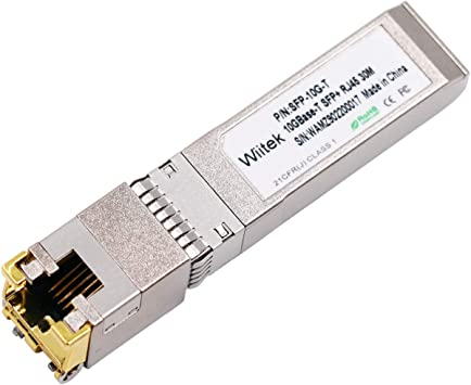 10G T Pack of 2 RJ-45 SFP+ CAT.6a 10GBase-T SFP+ Transceivers Ubiquiti UF-RJ45-10G 10G Copper TP-Link Broadcom Netgear up to 30 Meters Compatible with Cisco SFP-10G-T-S Supermicro D-Link