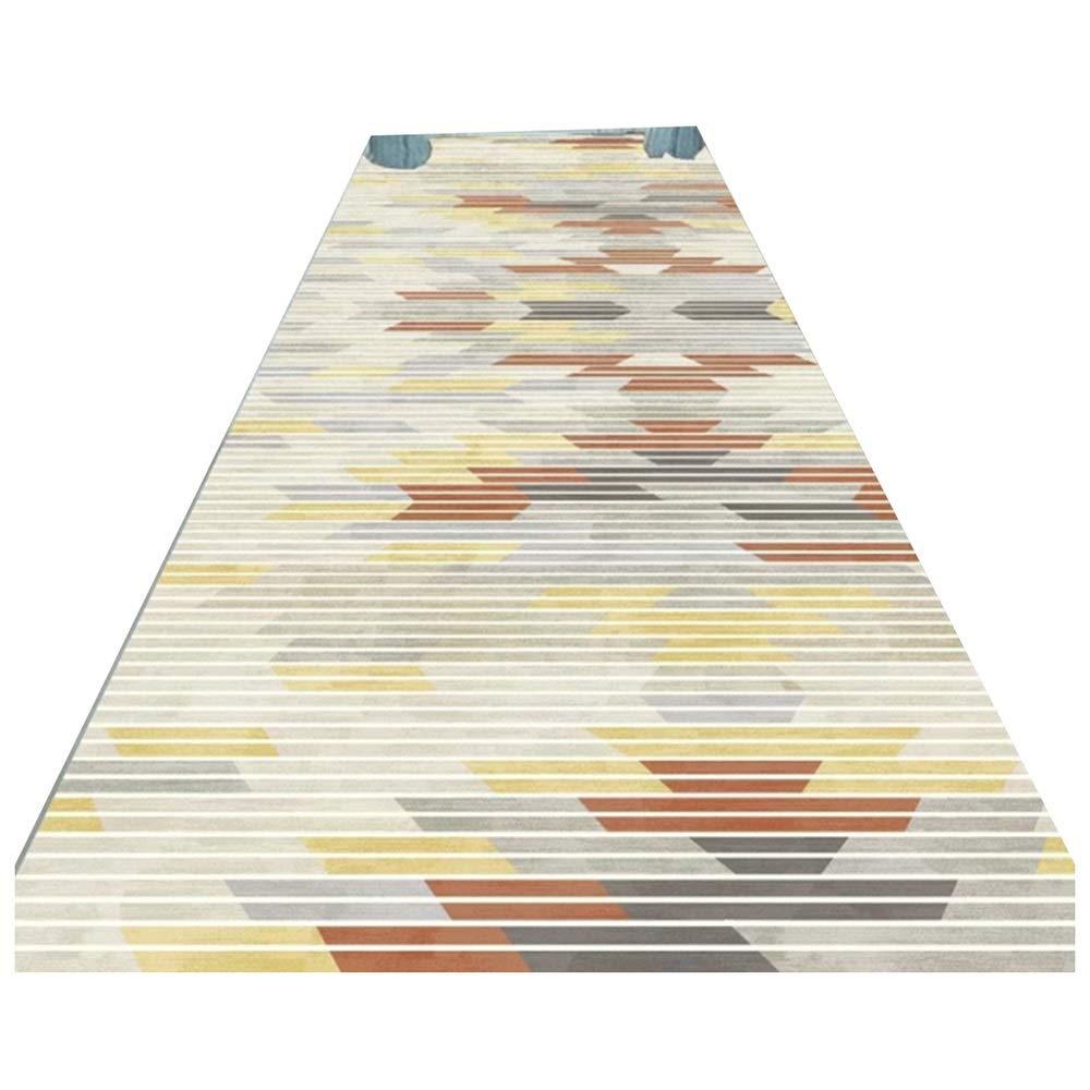 テンポアウター最終的にLJJL 廊下のカーペット キッチンベッドルームホテルフロントドアの装飾のための近代的なカジュアルエリア敷物ランナー、フロアマット - 非スリップ廊下ランナーカーペット (Size : 60×100CM)