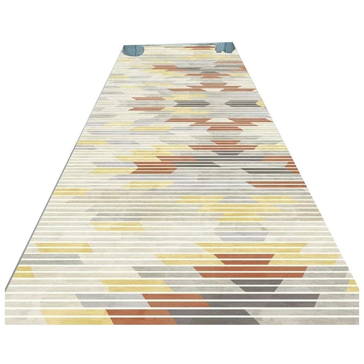 隣接東ティモール食料品店LJJL 廊下のカーペット キッチンベッドルームホテルフロントドアの装飾のための近代的なカジュアルエリア敷物ランナー、フロアマット - 非スリップ廊下ランナーカーペット (Size : 60×100CM)