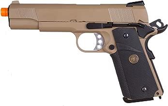 we full metal 1911 meu desert gas pistol airsoft gun(Airsoft Gun)