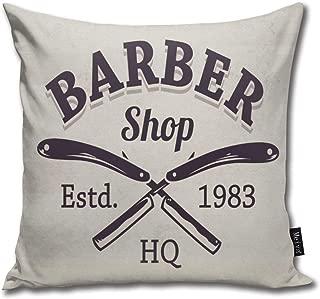 vintage barber shop design