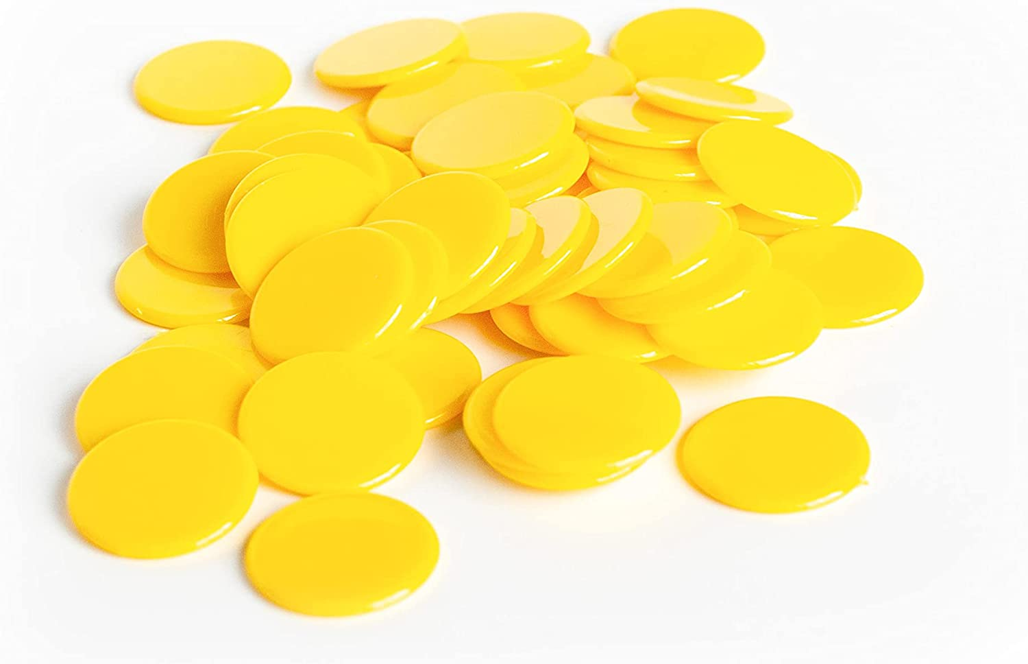 Plastic Counters: Yellow Color Gaming Tokens Hard Plast Colored New York Mall Louisville-Jefferson County Mall