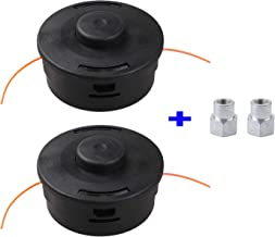 Anleolife Trimmer Head Replacement for Stihl, Weedeater Parts Autocut 25-2 Bump Feed 2-Pack
