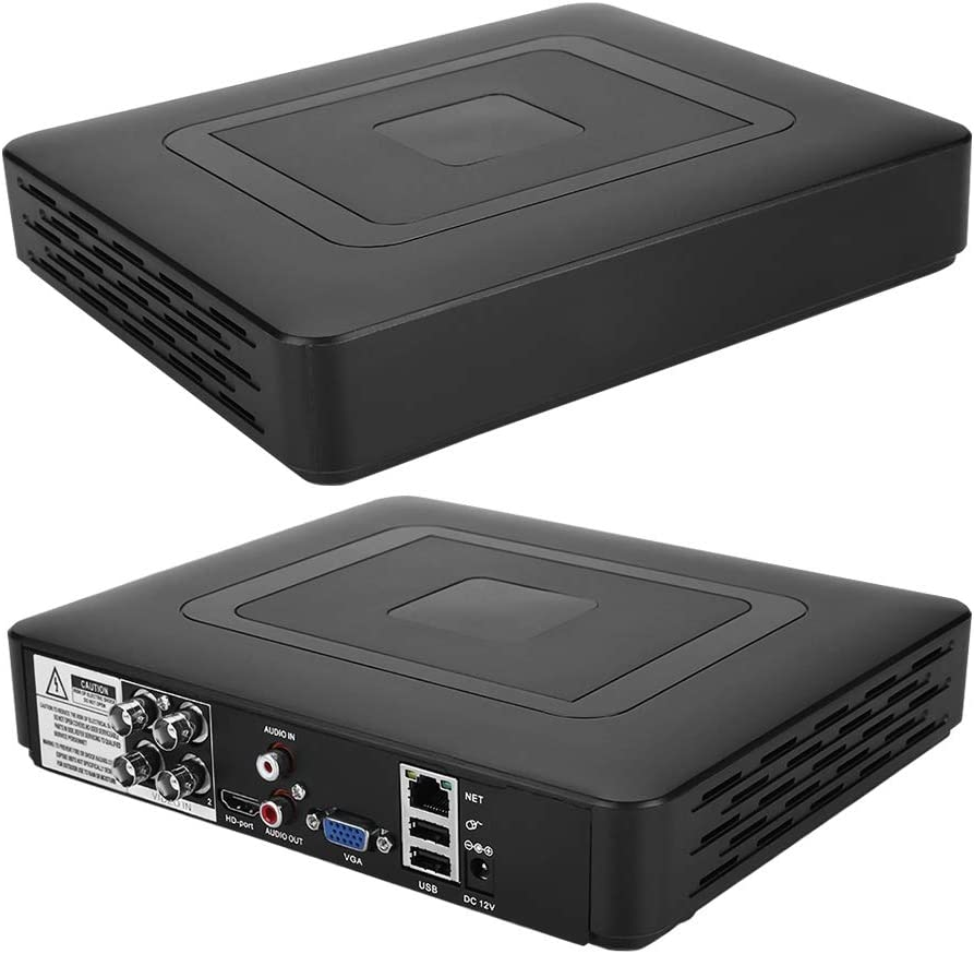 Fockety lowest price DVR Recorder Video Hybri 4-Channel USB Backup Deluxe