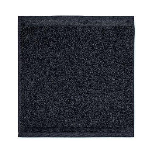 Möve 017258775-030030-820 serviette lavette, Tissu-éponge, Dark Grey, 30 x 30 cm