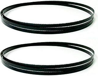 2PCS Carbon BandSaw BLADES 2240MMX6.3mm Bandsåg 3 4 10 1 4TPI Träbearbetningsverktyg för 315/316/317/318 ZRONG (Color : 14...