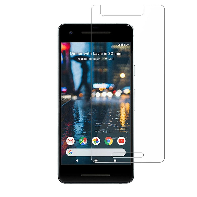 BONUM Google Pixel 2 Screen Protector, Case Friendly Ultra Clear Anti Scratch Bubble-free - 2 Piece