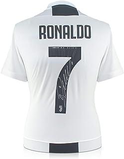 91fcd2f1a8 exclusivememorabilia.com Camiseta de fútbol de la Juventus firmada por Cristiano  Ronaldo.