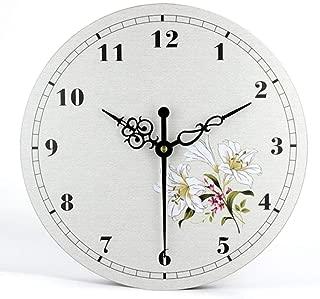 horloge murale design salle de bain