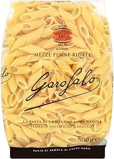 Garofalo Mezze Penne Rigate Dry Pasta 500g