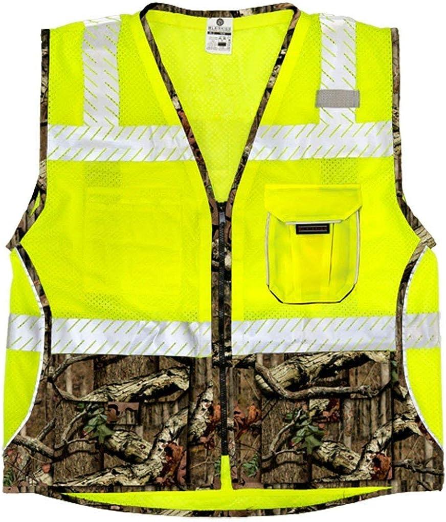 ML Kishigo - Mossy Oak Camouflage Safety Vest, Size: