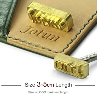 New Customize Hot Brass Stamp Iron Mold with Logo,Personalized Mold Heating on Wood/Leather, League DIY Gift,Custom Design, Size 3-5cm Length
