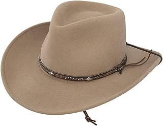Stetson Men's Mountain View Crushable Wool Felt Hat - Mtvw-813279 Sand