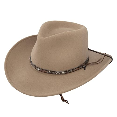 cb2c3e42d94b4f Stetson Men's Mountain View Crushable Wool Felt Hat