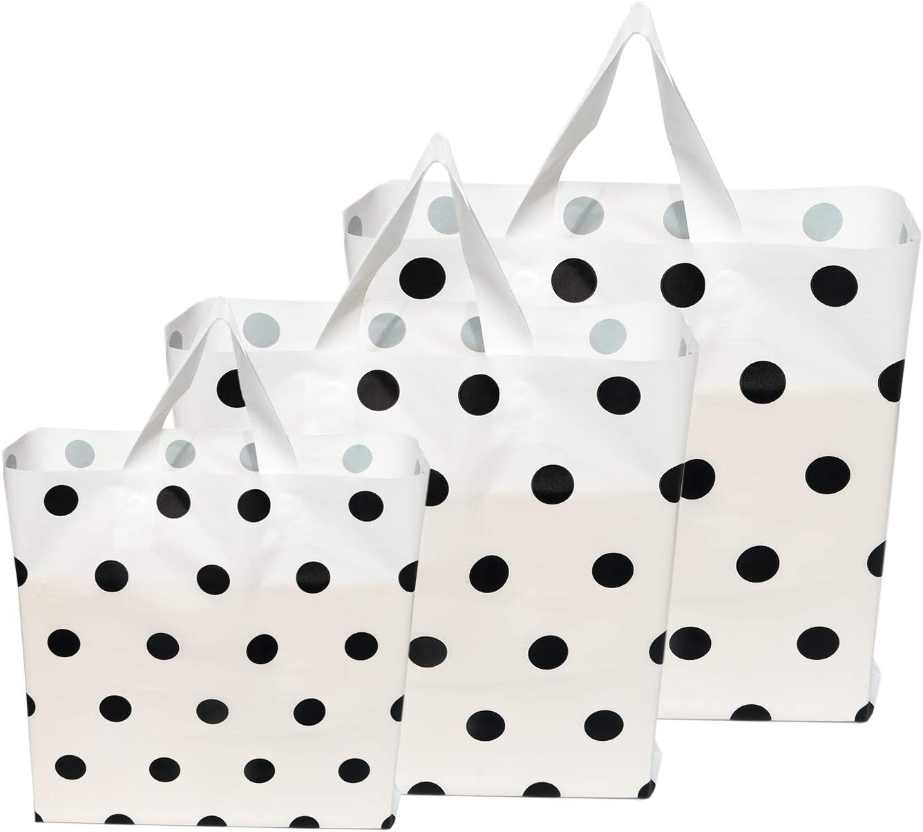 FENGLY Extra Thick Frosted unisex Recommendation Plastic Recyclable Shopping Bags Bag