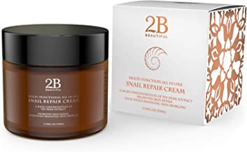 REVOLUTIONARY Anti Aging Intensive Moisturizer Cream with 92% Natural Korean Snail Mucin - 2.53 oz (75 grams)