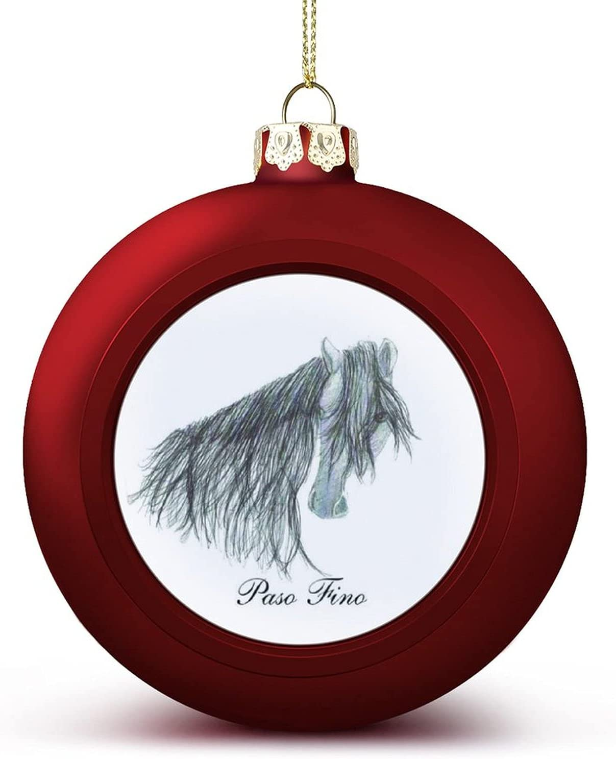 Classic Ditooms Paso Fino Christmas Ball Challenge the lowest price of Japan Halloween Ornaments Bal Hanging