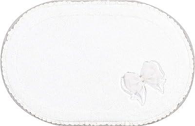 NYNAS エレリュバン バスマット 約55×85cm ホワイト 35942