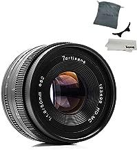 7artisans 50mm F1.8 APS-C Manual Fixed Lens for Fuji X-A1 X-A10 X-A2 X-A3 A-at X-M1 XM2 X-T1 X-T10 X-T2 X-T20 X-Pro1 X-Pro2 X-E1 X-E2