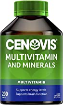 Cenovis Multivitamin and Minerals - General wellbeing - Supports energy levels and healthy immune system, 200 Tablets