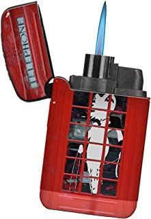 Superhero Cosplay UK - New Vibe Flameless Turbo Flip-Top Windproof Refillable Pocket Lighter